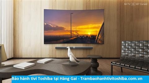 Bảo hành sửa chữa tivi Toshiba tại Hàng Gai