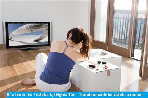 Bảo hành sửa chữa tivi Toshiba tại Nghĩa Tân