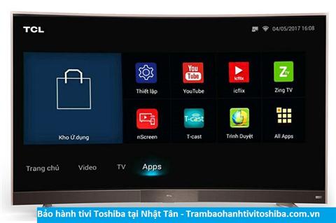 Bảo hành sửa chữa tivi Toshiba tại Nhật Tân