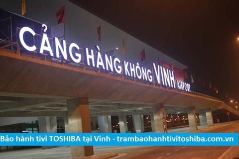 Cửa hàng bảo hành tivi TOSHIBA tại Thành phố Vinh